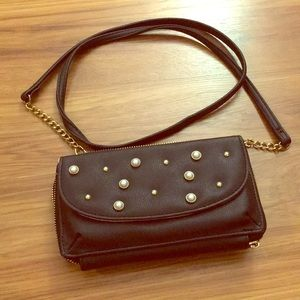 Juicy couture black studded crossbody!!